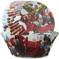 BAKING CUPS AVENGERS 50 CT