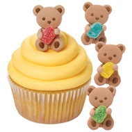 ICING DECO BEAR WITH GUM DROP