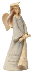 FND4032461 MINI GRADUATION ANGEL FIGURINE