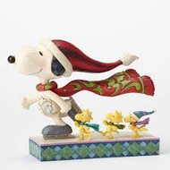 HWC4052718 SKATE MATES SNOOPY ON ICESKATES WITH WOODSTOCK AND FRIENDS