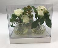 CARDHOLDER ROSE 2/BOX