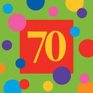 BEV NAPKINS BIRTHDAY STRIPES 70