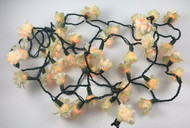 PARTY LIGHT GARLAND FLOWER LIGHTED STRING x50
