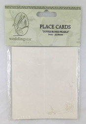 PLACE CARDS DOVES 10 CT