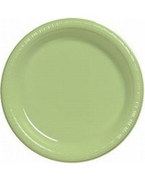 PLATES 9 IN. SAGE GREEN 24 CT