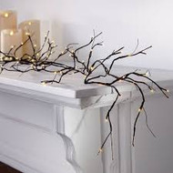 WILLOW BRANCH GARLAND 96 LED LIGHTS