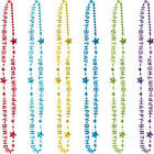 NECKLACES HAPPY BIRTHDAY BEADS 6 PCS