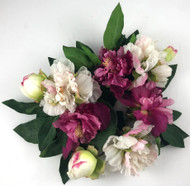 """CANDLERING 3"""" PEONY RB/PK"""