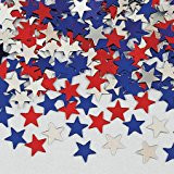 CONFETTI STARS RED/BLUE/SILVER