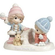 PM181036 SNOW MUCH FUN FIGURINE