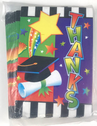 THANK YOU CARDS GRADUATION 20 CT