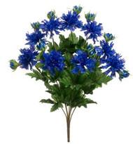 "CORNFLOWER BUSH x9 BLUE 17"""