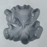 RUBBER CANDY MOLD ORCHID FLOWER