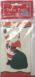 TREAT SACKS SANTA 20 CT
