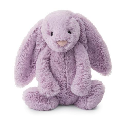 Jellycat Bashful Lilac Bunny stuffed animal