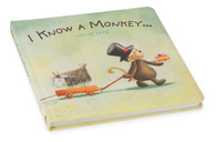 Jellycat I Know a Monkey board book