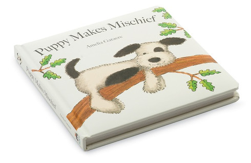 Jellycat Puppy Makes Mischief board book