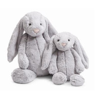 Jellycat Bashful Grey Bunny stuffed animal