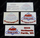 A9X Torana Club - 2010 Nationals - Perth Decals