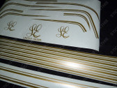 HX LE Stick-on Gold Stripe Kit