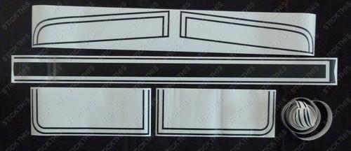 HQ GTS Paint Mask Stripe Kit, Sedan or Coupe