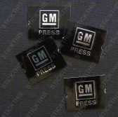 GM Seatbelt Button Inserts x 4