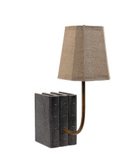 Lamp in Charcoal Shagreen