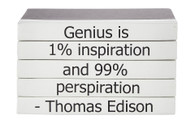 "Quotations Series: Thomas Edison ""Genius"""