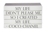 "Quotations Series: Coco Chanel ""Created"""