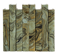Marble over Sage Green - priced by the linear foot