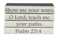 """4 vol. quote stack """"Show me your ways..."""""""