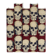 Rad Skulls - Red - priced by the book