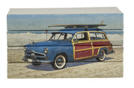 4 vol. stack Classic Woodie on the beach