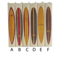 Surfboard series - priced by the book