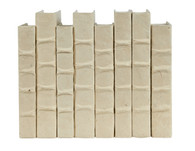 Cream (natural) parchment bound books - priced by the book