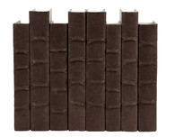 Chocolate Brown parchment bound books - priced by the book