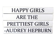 "Quotations Series ""Happy Girls are the Prettiest..."" 4 Volume Stack"