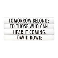 "Quotations Series: David Bowie ""Tomorrow belongs..."" 4 Vol."