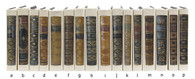 Simulacra - book spines (priced by the book)