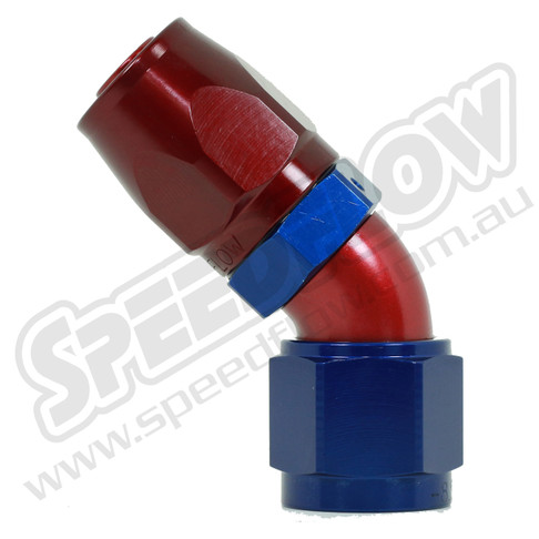 Speedflow 45 Degree Hose Ends - 104-06 to 104-12