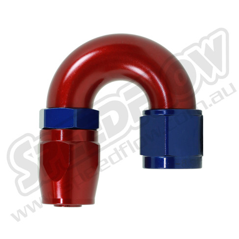Speedflow 180 Degree Hose Ends - 106-04 to 106-08
