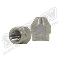 Female One Piece Tube Nut - Steel