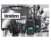 Uniden UH850S-2TP 5 Watt UHF Waterproof CB Handheld - Tradies Pack