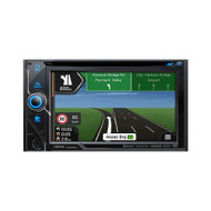 "Clarion NX606AU 6.2"" 2-DIN DVD Multimedia Station with Navigation"