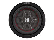 "Kicker CWRT81 8"" Dual 1 Ohm CompRT Series Subwoofer"