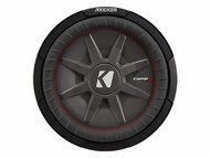 "Kicker CWRT121 12"" Dual 1 Ohm CompRT Series Subwoofer"