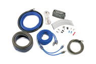 Kicker CK8-4 8 Gauge 4-Channel Amplifier Installation Kit