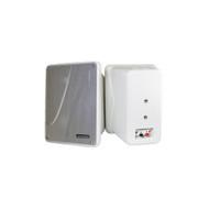 "Kicker KB6000 White 6-1/2"" Full-Range Enclosed Indoor/Outdoor Speakers"