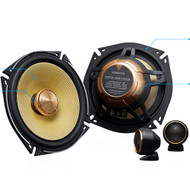 Kenwood KFC-XS1703 Hi-Res Audio  17cm Component Speaker
