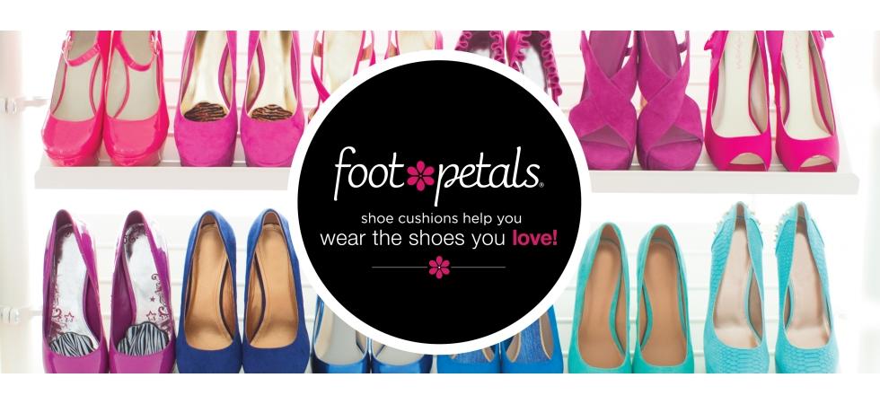 Foot Petals shoe cushions help you wear the shoes you love!